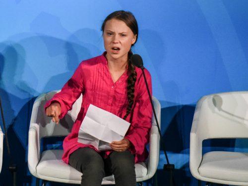 Greta Thungerg il suo discorso condanna i potenti della Terra
