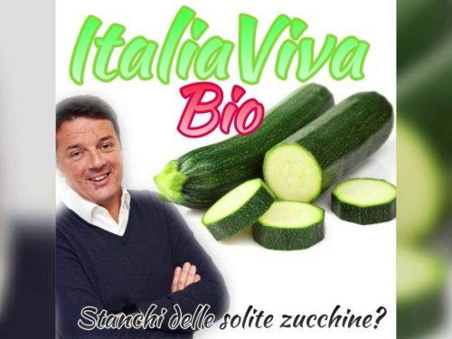 'Italia Viva' Ironia sul web