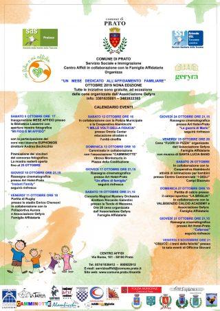 Nona edizione Mese dell'Affido familiare Prato