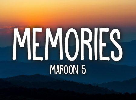 Maroon 5 – Memories, con testo e video ufficiale