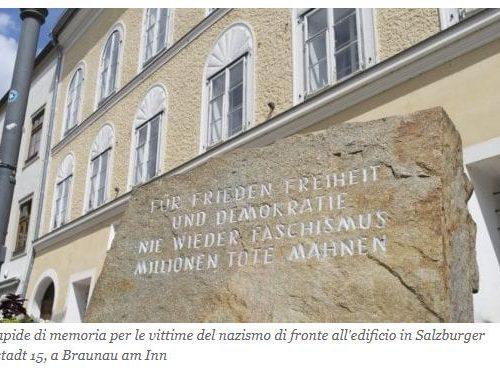 Austria Commissariato di Polizia nell'ex casa natale del Fuhrer