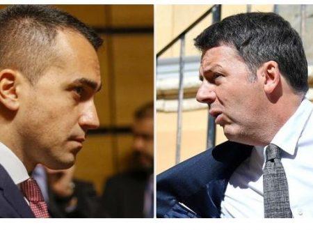Scontro Renzi-Di Maio su Conte