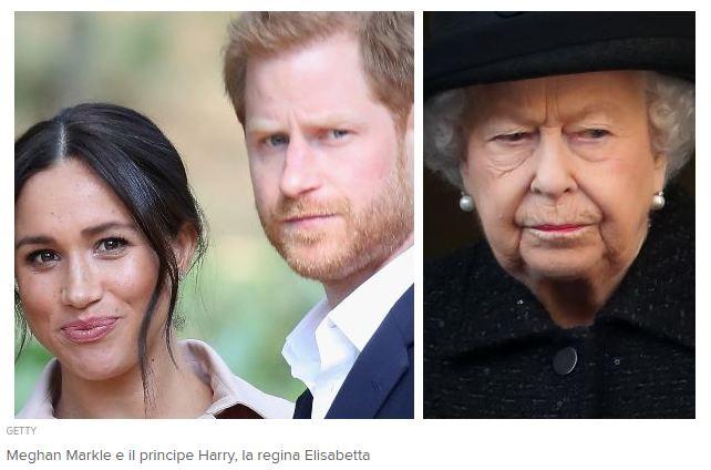 Reali Britannici Harry e Meghan Natale in Usa