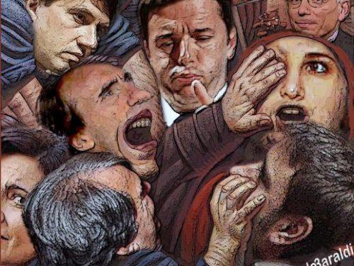 Italia non governata da un esecutivo nato da un accordo di spartizione