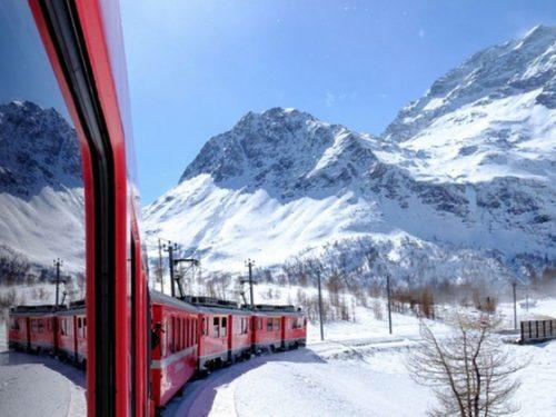 Capodanno 2019 Viaggi Trenino Rosso del Bernina Tirano-Saint Moritz