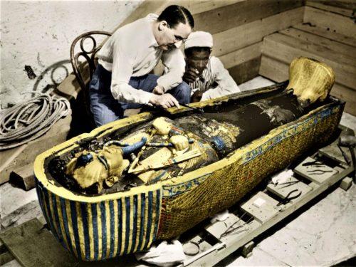Accadde Oggi 4 novembre 1922 scoperta tomba di Tutankhamon