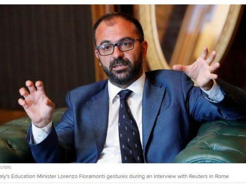 Fioramonti dimissioni sotto l'albero per il Governo