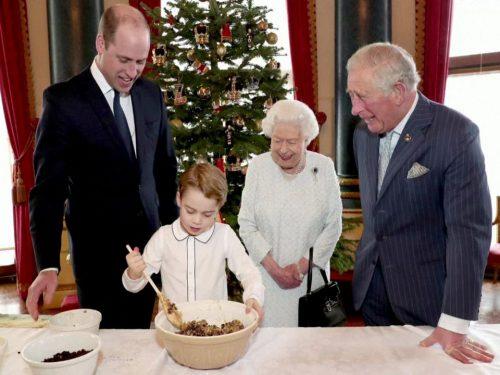 Il Christmas Pudding del Principino George