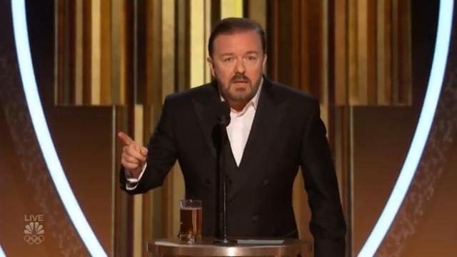 Golden Globes 2020 e un magistrale Richy Gervais