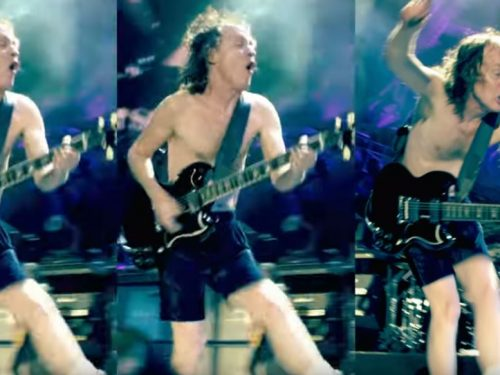 Angus Young compie 65 anni : AC/DC – Shoot To Thrill, testo e video