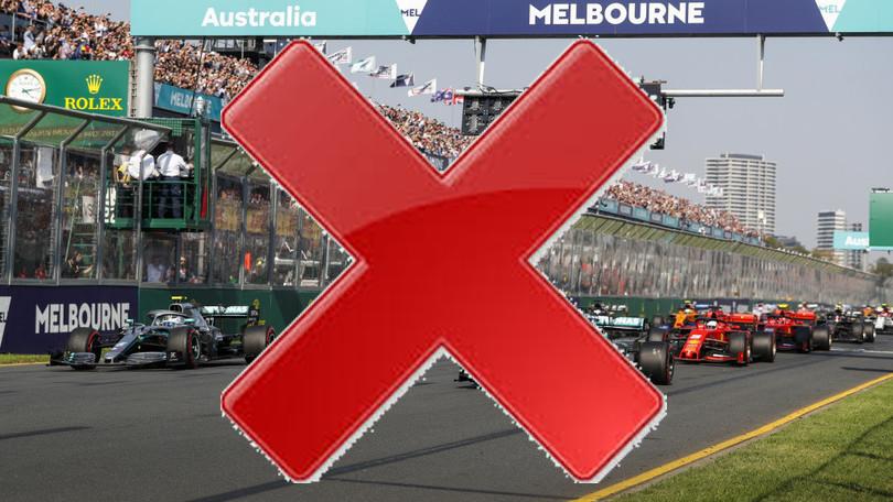 F1 Stop al Gran Premio di Australia.