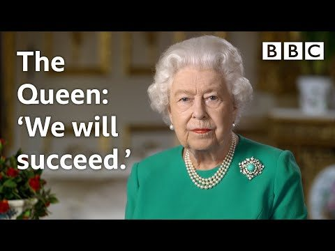 """Regno Unito Storico discorso della Regina: """"Vinceremo e torneremo insieme"""""""