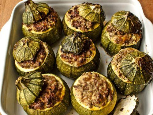 Secondo Piatto: Le scodelline di zucchine
