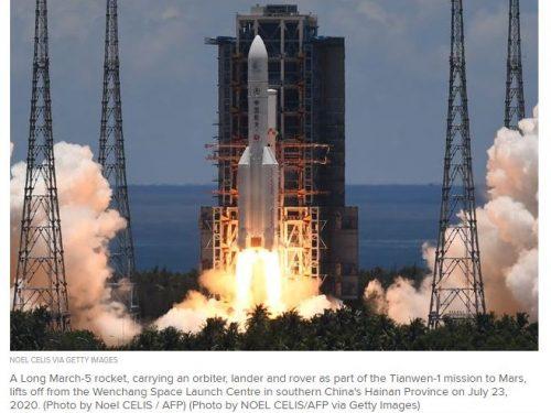 La Cina alla conquista di Marte