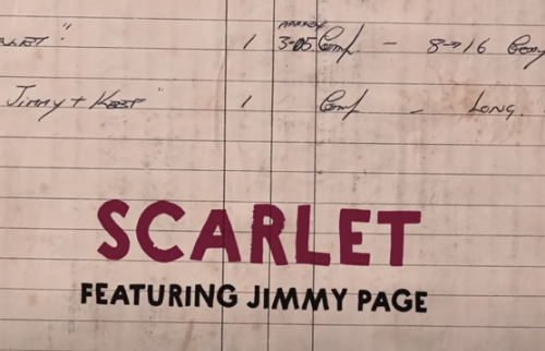 Rolling Stones feat. Jimmy Page – Scarlet, testo e video