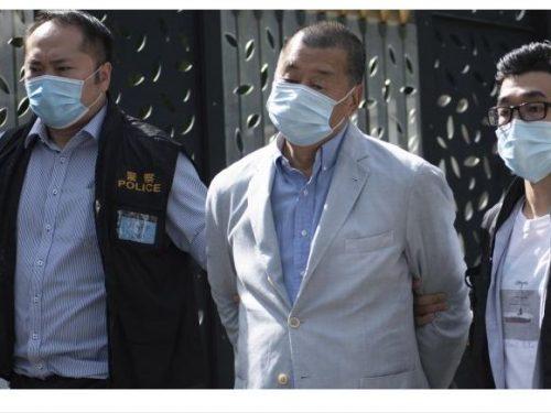 Tensioni a Hong Kong, arrestato il magnate Jimmy Lai