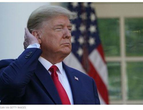 Trump non riesce a lavarsi bene i capelli, il Governo aumenta il flusso