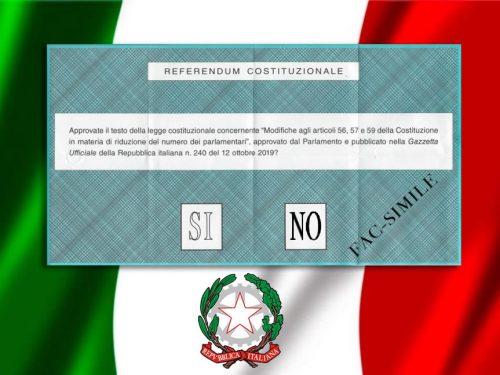 Referendum Costituzionale 2020: il Sì vicino al 70%