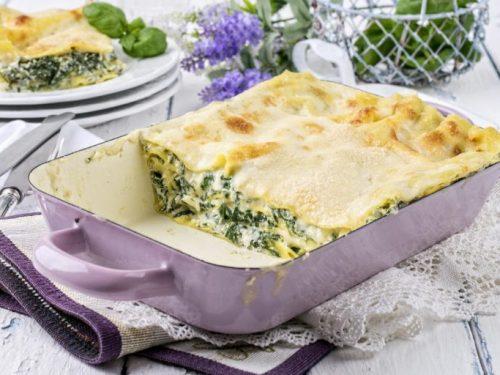 Le magnifiche lasagne con gli spinaci