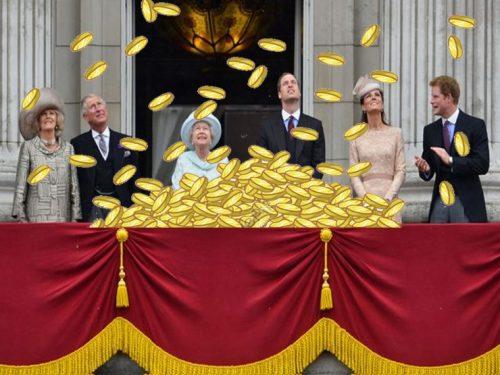 Il Governo in soccorso della Corona Britannica a spese dei sudditi
