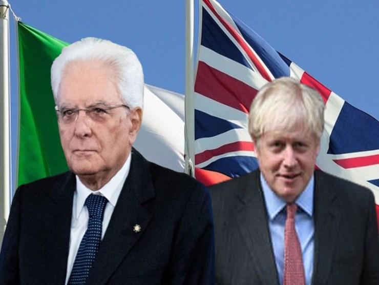 Il Presidente Mattarella risponde a Boris Johnson