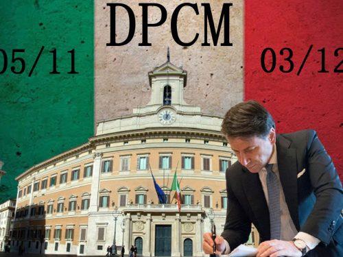 Giuseppe Conte ha firmato il nuovo DPCM