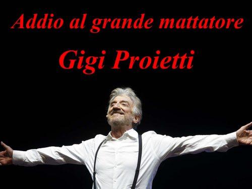 Gigi Proietti: Addio al grande mattatore