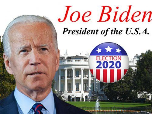 Joe Biden eletto Presidente degli Stati Uniti d'America