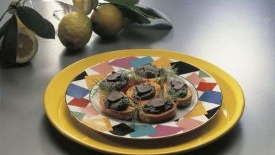 Dall'Umbria: I crostini alla spoletina