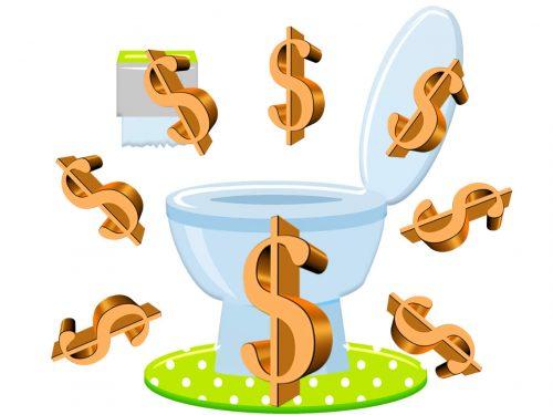 Amministrazione Trump 3mila dollari al mese per i WC