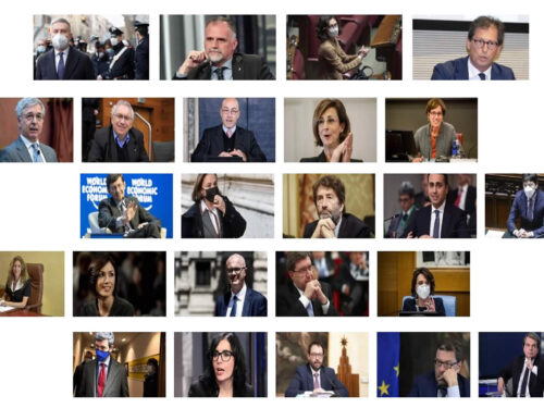 Governo Draghi: la sua squadra