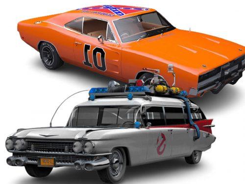 Quali sono le 5 auto più famose del cinema e della televisione?
