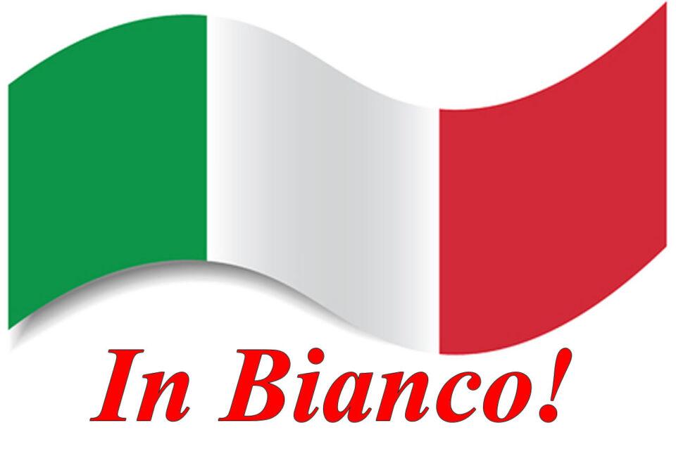 Giugno in bianco per l'Italia