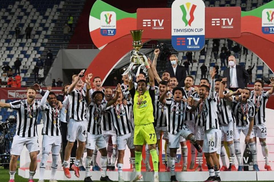 La Coppa Italia 2021 la conquista la Juventus