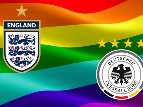 Euro 2021 con Inghilterra e Germania Rainbow