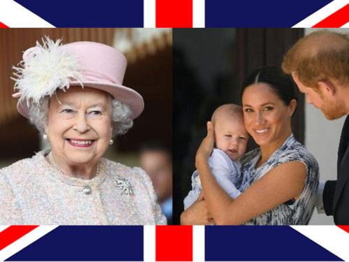 Harry e la foto a casa della regina