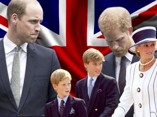 William e Harry riuniti nel nome di Lady Diana