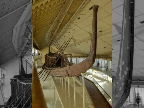 Egitto, traslata la 'barca solare' di Cheope