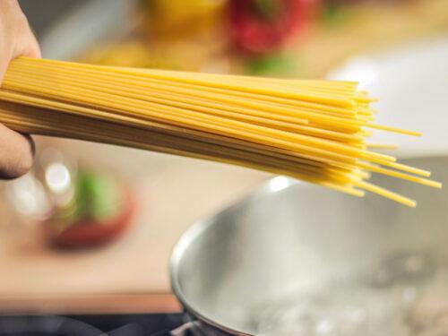Gli spaghetti delicatezza