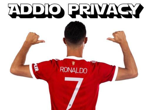 Cristiano Ronaldo successo e fama come una gabbia