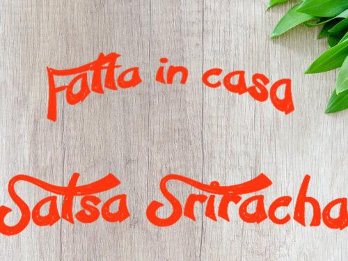 La salsa Sriracha casalinga