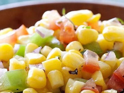 L'insalata di mais all'americana