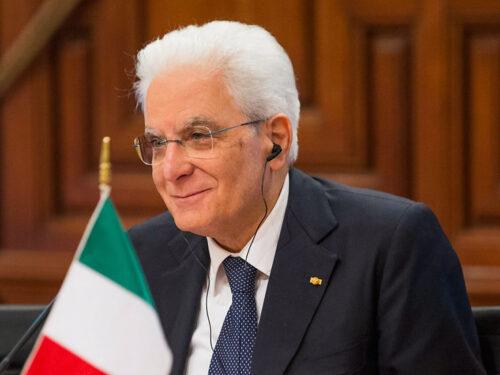Presidente Mattarella discorso della Pace
